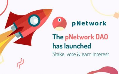 pTokens project launches pNetwork DAO with staking rewards of 42% APR interest