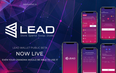 LEAD Wallet Launches Its Super Simple Application; Even Your Grandma Would Be Able to Use It