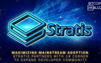 Stratis Partners With World's Largest .NET Development Community to Expand Developer Community
