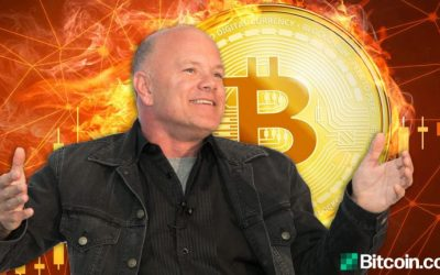 'Weird Coins Like DOGE and XRP Spike'- Galaxy Digital's Mike Novogratz Warns of a Crypto Market 'Washout'