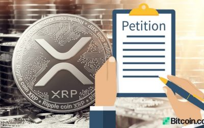 Petition Calls on New SEC Chairman to Drop Ripple Lawsuit and 'End War on XRP'