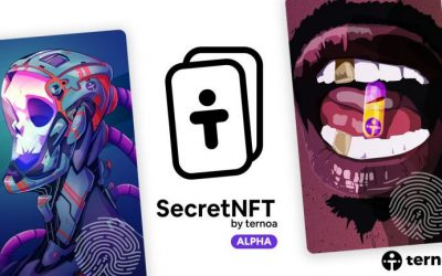The Ternoa Blockchain (CAPS) Unveils SecretNFT, Its NFT Platform